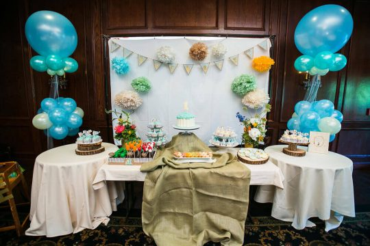 Zachary's Peter Rabbit First Birthday Party