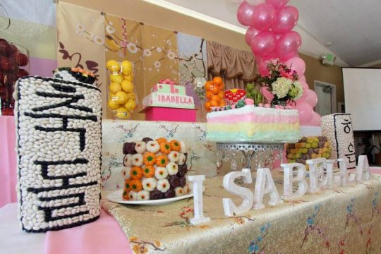 Isabella's Pretty In Pink 1st Birthday Party