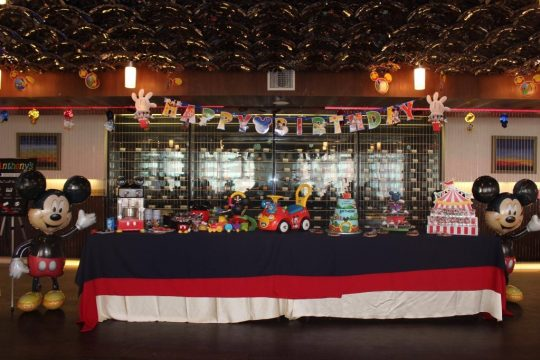 Anthony's Mickey Mouse First Birthday Party