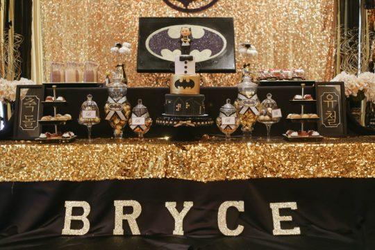Bryce's Gotham City First Birthday Party