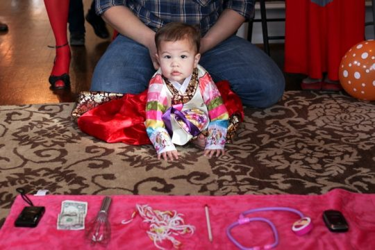 Norah's Doljanchi (Korean First Birthday)