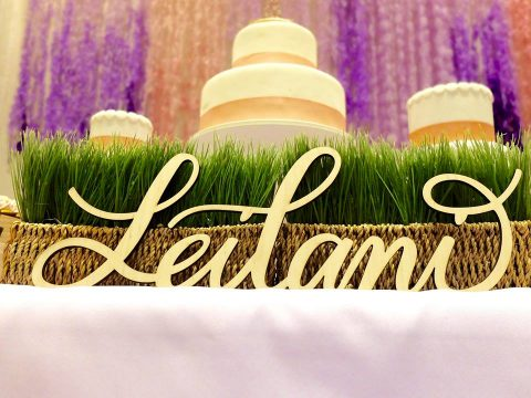 Leilani's Lilac Themed First Birthday Party