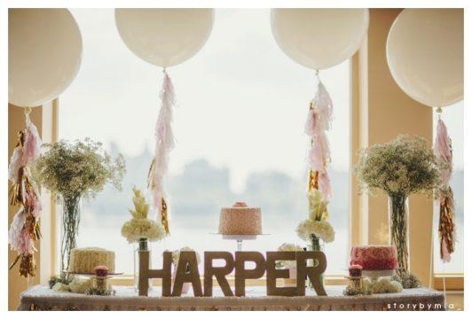 Harper's Classic Pink First Birthday