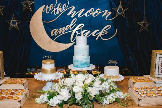 Warren's To The Moon And Back First Birthday