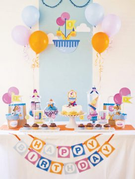 Jacob & Jayden's Noah's Ark Two By Two First Birthday Party