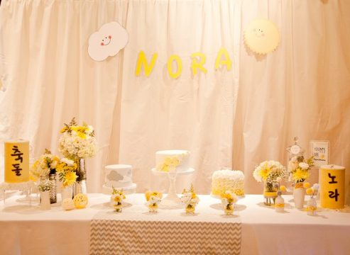Nora's You Are My Sunshine First Birthday