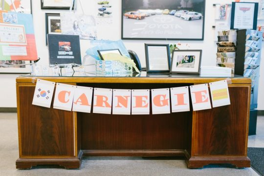 "Carnegie's ""Cars"" Themed First Birthday Party"