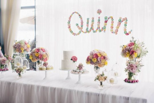 Quinn's Sweet & Whimsical Floral First Birthday