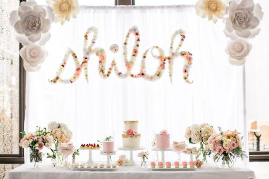 Shiloh's Ethereal & Whimsical First Birthday Party