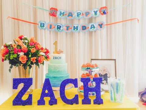Zach's Finding Nemo Themed First Birthday