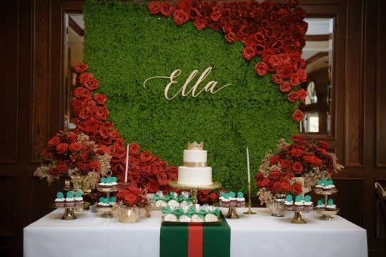 Ella's Gucci Inspired First Birthday